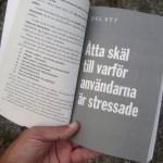 """Åtta skäl till varför användarna är stressade - del ett i boken """"Jävla skitsystem!"""""""