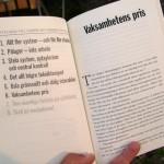 "Vaksamhetens pris - ett kapitel i boken ""Jävla skitsystem!"""