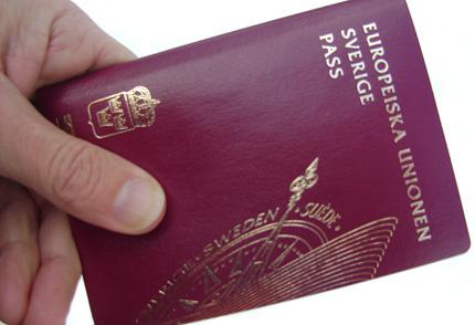 Mitt nya pass