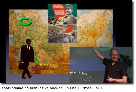 Föreläsning på Disruptive Change, maj 2011 i Stockholm