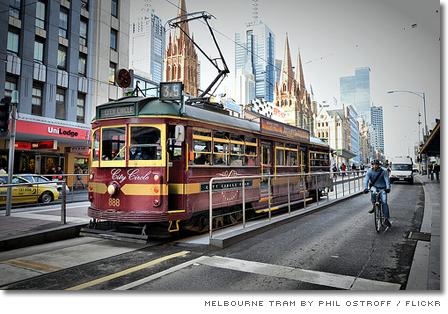 Spårvagn i Melbourne