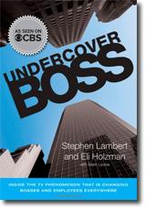 omslag till boken undercover boss