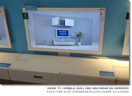 Ikeas nya kombinerade tv och tv-möbel Uppleva