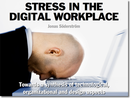 Vinjettbild för presentationen Stress in the digital workplace