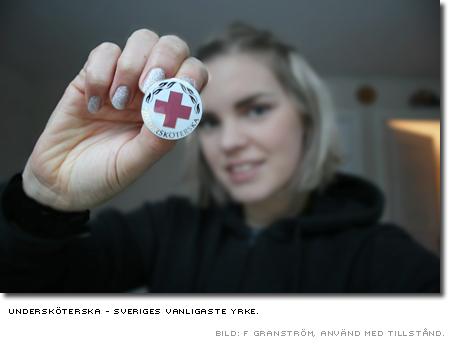 Sveriges vanligaste yrke - undersköterska