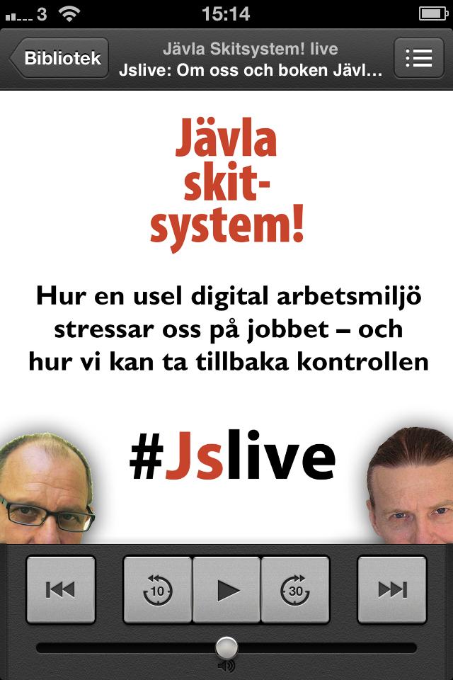 Podcasten Jävla skitsystem Live!