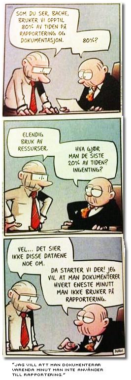 briljant norsk seriestrip om administration