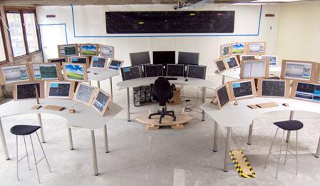 prototyp för ny ledningscentral