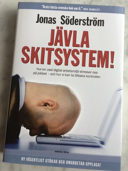 den utökade och uppdaterade andra utgåvan av Jävla skitsystem